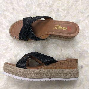 Dbdk fashion espadrilles sandals nwt